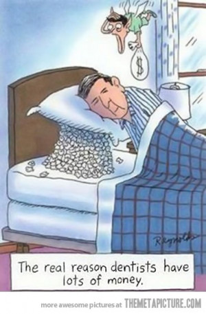 Funny photos funny dentist tooth pillow fairy