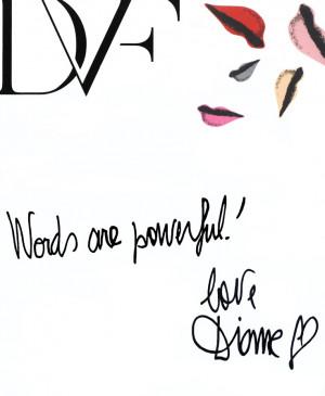 ! love Diane Mantra, Dvf Quotes, Wisdom, Fashion Quotes, Quotes ...