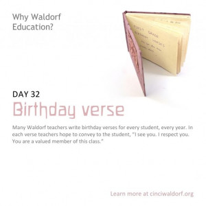... Waldorf School Birthday Verses, Birthday Celebrr, 32Nd Birthday