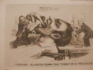 FORCING SLAVERY DOWN THE THROAT OF A FREE-SOILER""