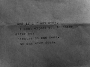 Float away.