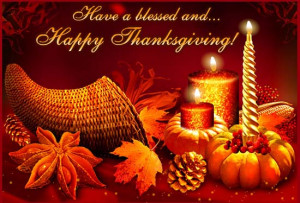 ... by sending these beautiful thanksgiving greetings and cards to them