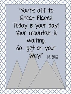 Dr. Seuss Quotes & Printables
