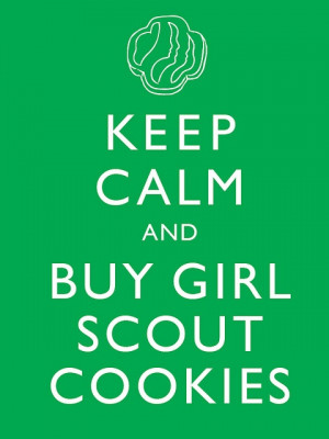 Girl scout cookie sales start today! My daughter sells them, so let us ...