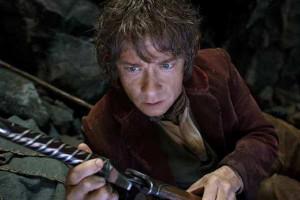 Martin Freeman as the Hobbit Bilbo Baggins in the fantasy… (Courtesy ...