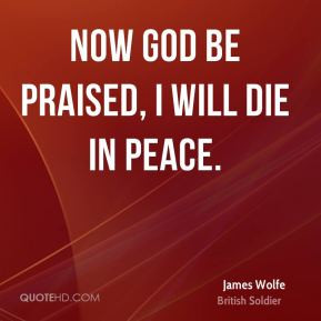 James Wolfe Top Quotes