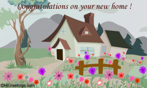 ... New Home & Housewarming - Congrats On Your New Home! greeting card to