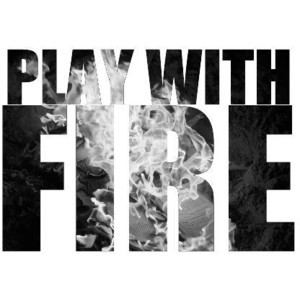 Play with fire Lyrics Hilary Duff Picture Text quote :) Black and whit ...