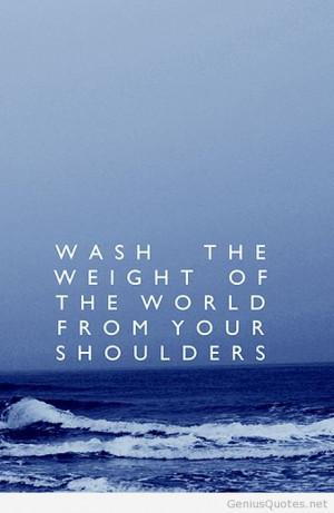 Sea love with dreams world quote
