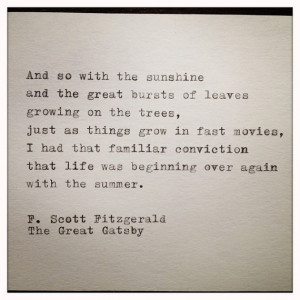 Quotes From The Great Gatsby About Daisy ~ The Great Gatsby Quote ...
