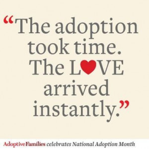 Quotes About Adoption And