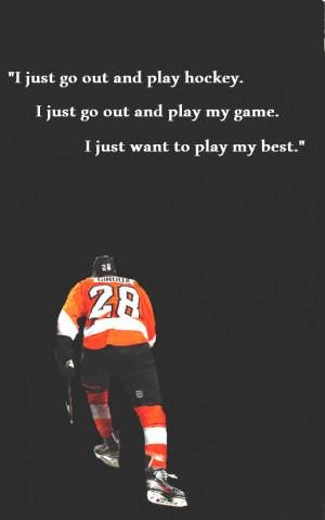 Hockey Quotes White Tshirt...