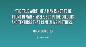 True Worth quote #2