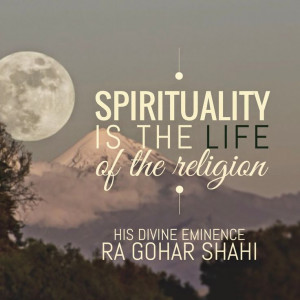 The Official MFI® Blog Quote of the Day: 'Spirituality is the life of ...