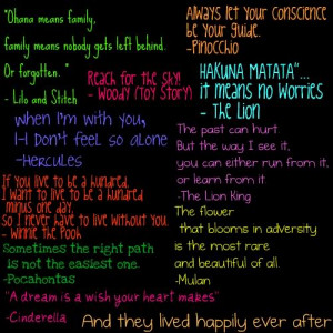 Best Disney quotes
