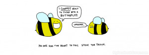Funny Bee Facebook Covers