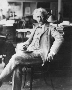 Mark Twain - American author and humorist (true name - Samuel ...