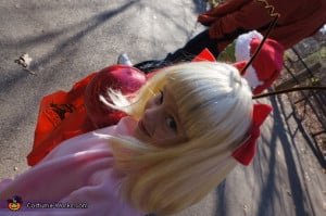 Cindy Lou Who. The Grinch and Cindy Lou Who - Homemade costumes for ...