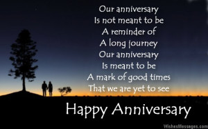 Anniversary Poems for Wife: Happy Anniversary Poems for Her