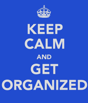 Anyone else feeling inspired to create an organizing-themed poster? If ...