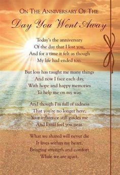 Still missing you and loving you 5 years after the sun shined the ...