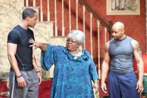 Still of Cassi Davis and Rico Ball in Madea's Big Happy Family (2010)