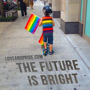 The future is bright...#lgbt