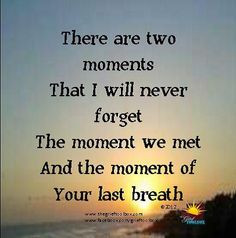 Two moments -..... A Poem ...