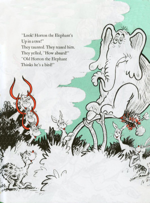 Horton Hatches the Egg Images