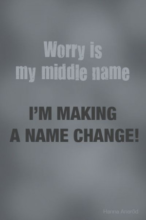 Inspirational quotes. Worry.