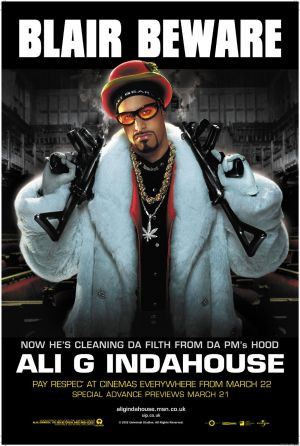 message ali g indahouse ali g indahouse