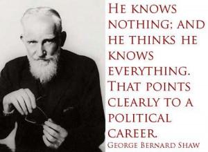 George Bernard Shaw Quote On Politics