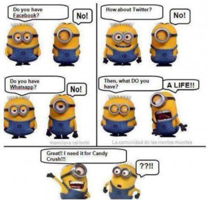 ... , Funny Pictures // Tags: Funny Minion Cartoon Strip // August, 2013