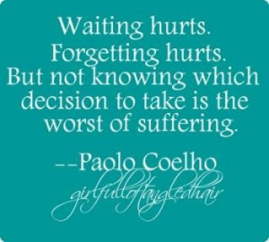 Quotes from waiting 0
