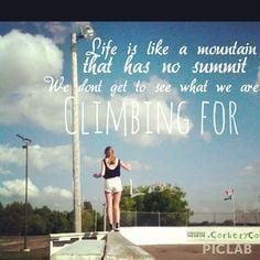 climbing quote More