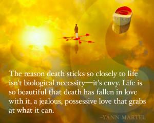 Yann Martel Life of Pi Quote