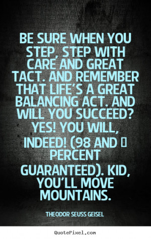 theodor seuss geisel more success quotes inspirational quotes