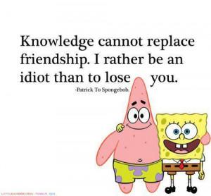 cartoon, friends, friendship, knowledge, love, patrick, spongebob