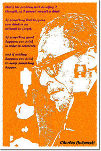 CHARLES-BUKOWSKI-ART-PRINT-QUOTE-PHOTO-POSTER-GIFT-THE-PROBLEM-WITH ...