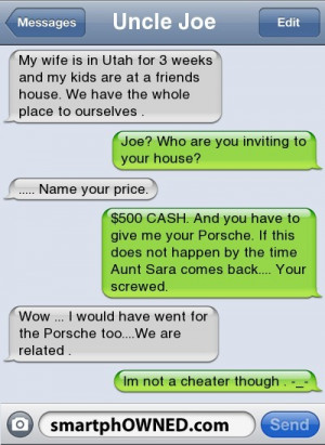 Cheating Text Messages