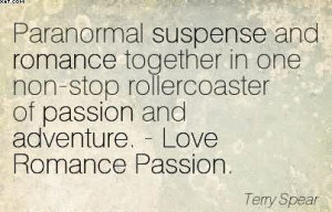 Paranormal Suspense And Romance Together In One Non-Stop Rollercoaster ...