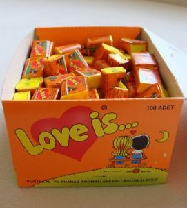 Love is Chewing Gum : : IN THIS PRODUCT : : The comics in English & in ...