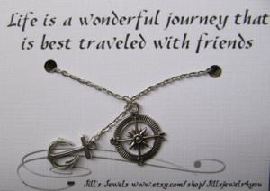 ... Quotes, Favorite Quotes, Friendship Necklaces, Quotes Life Friendship