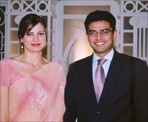 Farooq Abdullah And His Wife