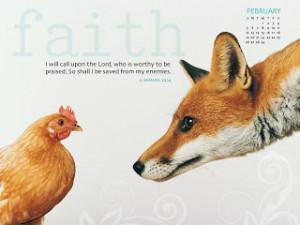 February 2012 Bible Verse Wallpaper