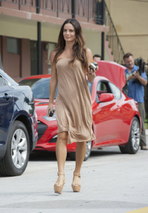 "BURN NOTICE — ""Means & Ends"" — Pictured: Gabrielle Anwar as ..."