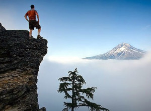 What is so spiritual about climbing a mountain?