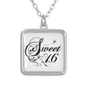 Sweet Sixteen (16) Quotes Pendants