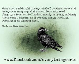 edgar allan poe the raven quote
