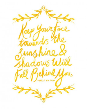 Sunshine Quotes And Credited